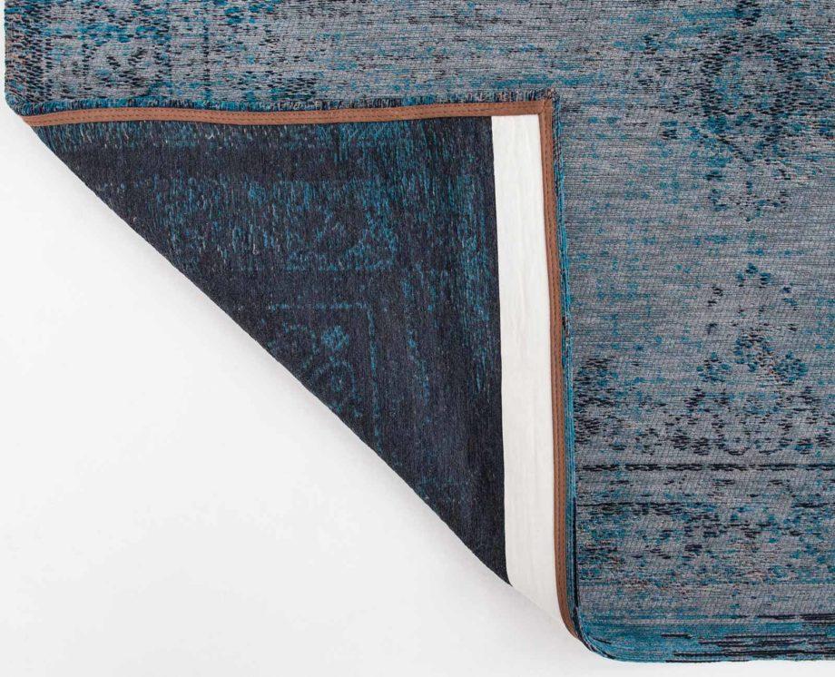 tapijt Louis De Poortere CA 8255 Fading World Medaillon Grey Turquoise back