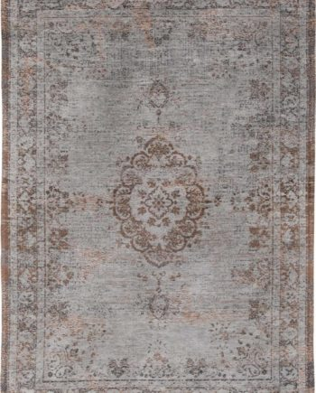 tapijt Louis De Poortere CA 8257 Fading World Medaillon Grey Ebony