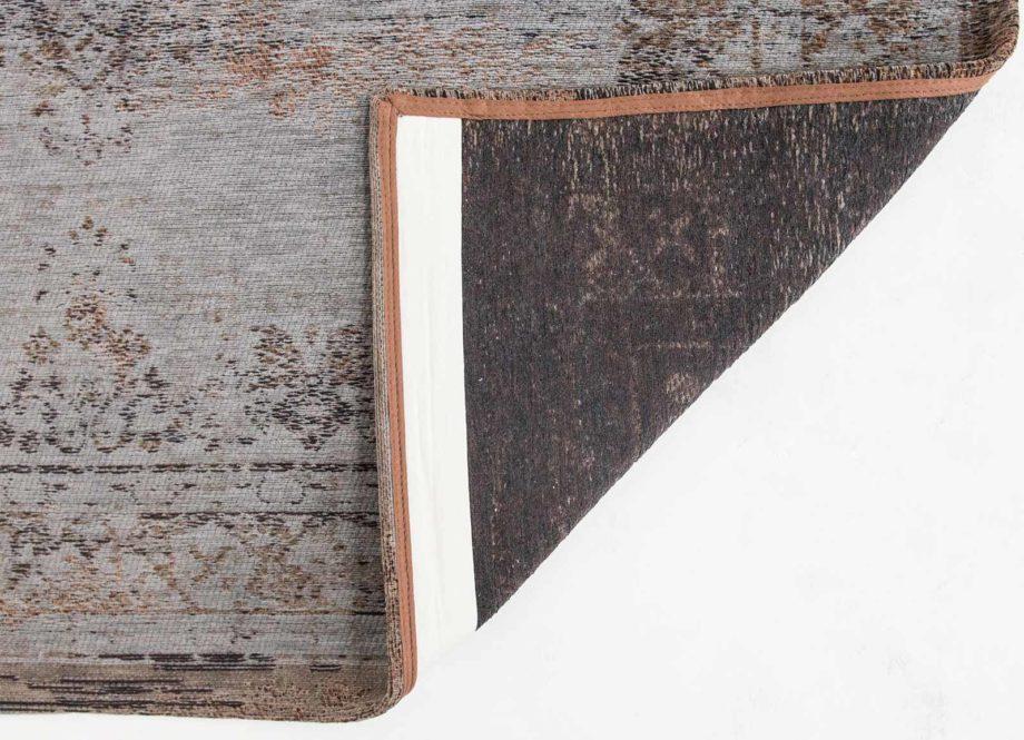 tapijt Louis De Poortere CA 8257 Fading World Medaillon Grey Ebony back