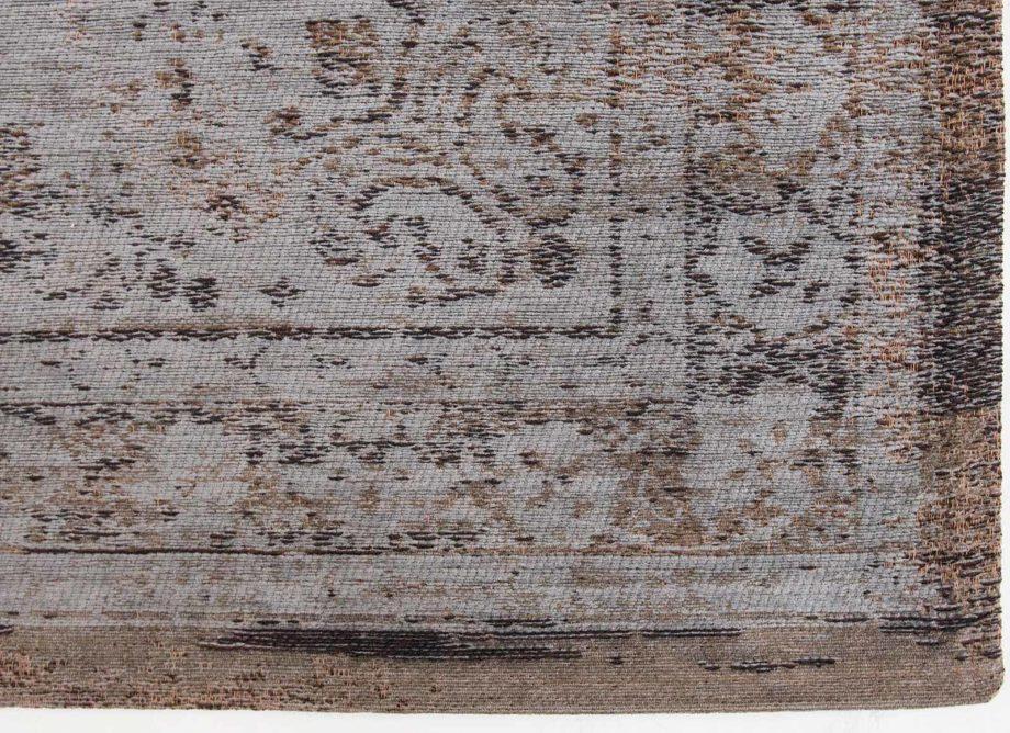 tapijt Louis De Poortere CA 8257 Fading World Medaillon Grey Ebony corner