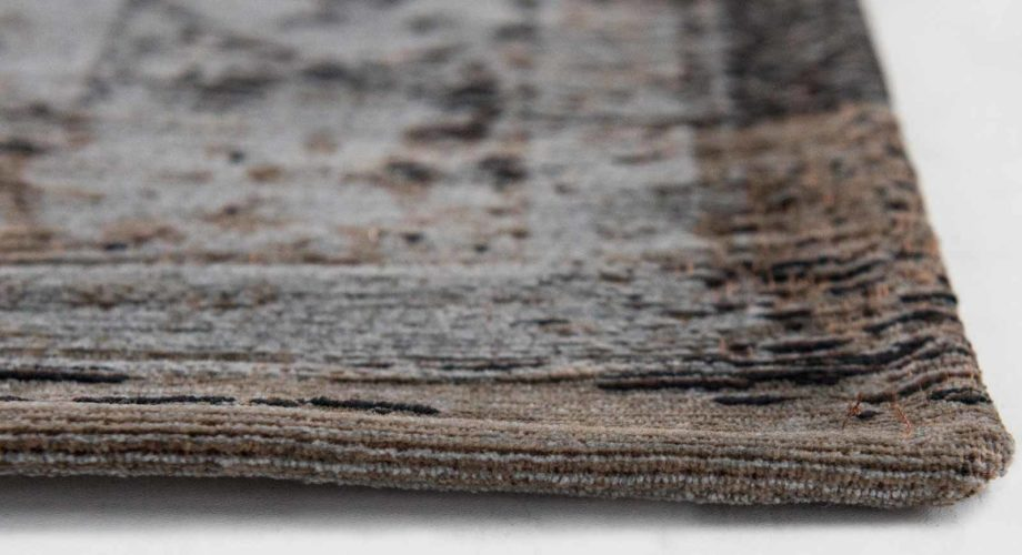 tapijt Louis De Poortere CA 8257 Fading World Medaillon Grey Ebony side
