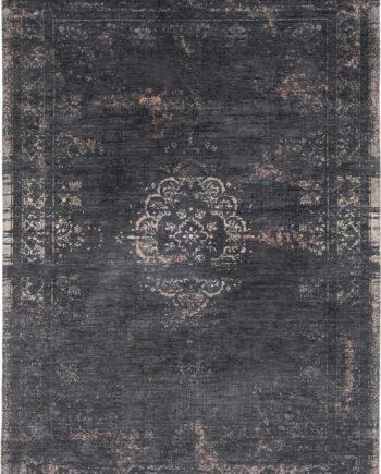 tapijt Louis De Poortere CA 8263 Fading World Medaillon Mineral Black