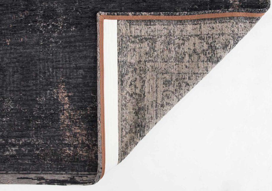 tapijt Louis De Poortere CA 8263 Fading World Medaillon Mineral Black back