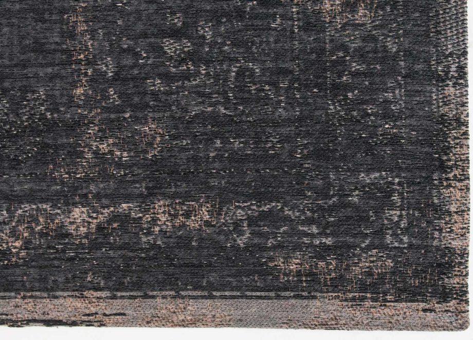 tapijt Louis De Poortere CA 8263 Fading World Medaillon Mineral Black corner