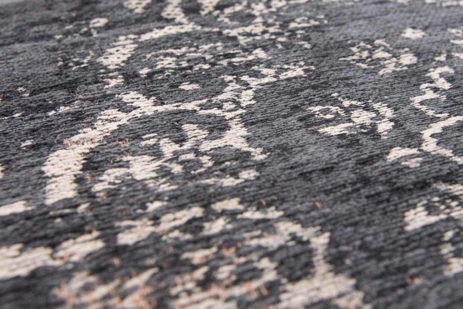 tapijt Louis De Poortere CA 8263 Fading World Medaillon Mineral Black zoom