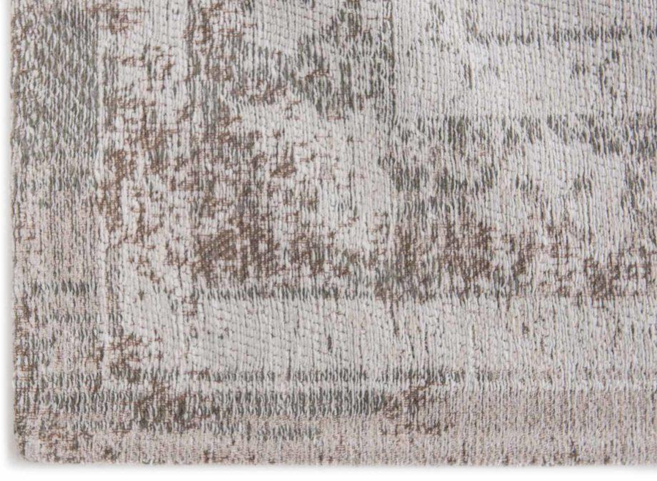 tapijt Louis De Poortere CA 8383 Fading World Medaillon Salt Pepper corner