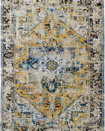 tapijt Louis De Poortere CA 8704 Antiquarian Antique Heriz Amir Gold