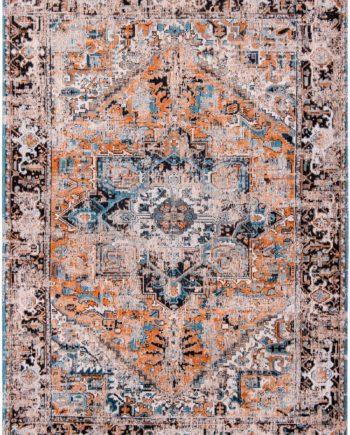 tapijt Louis De Poortere CA 8705 Antiquarian Antique Heriz Seray Orange