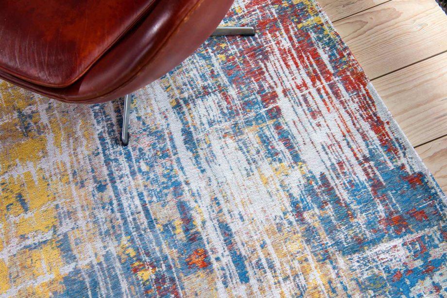 tapijt Louis De Poortere CA 8714 Atlantic Streaks Montauk Multi interior