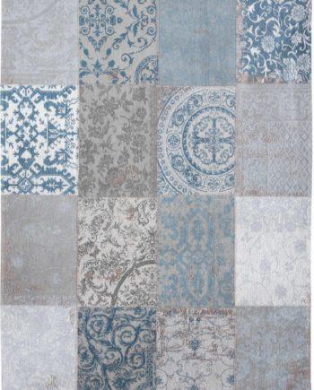 tapijt Louis De Poortere CA 8981 Vintage Bruges Blue