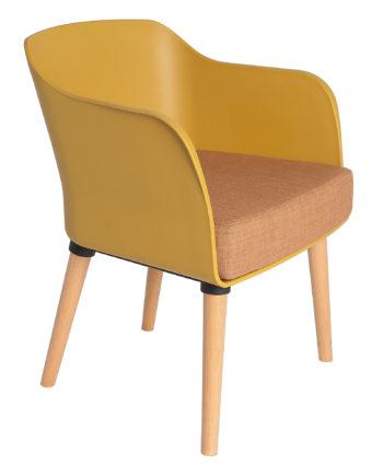 fauteuil Casandra Victoria 077 yellow 1