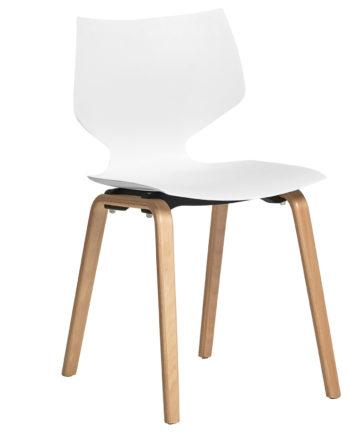 stoel Casandra Barbara 962 white 1